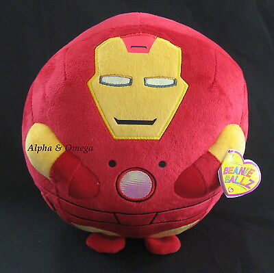 Enjoyable Iron Man Ty Beanie Ballz 8 Free Ship Marvel Avengers Gmtry Best Dining Table And Chair Ideas Images Gmtryco