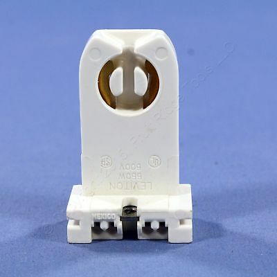Leviton Fluorescent Lamp Holder T-8 T-12 Light Socket High Profile Bulk 13358-N