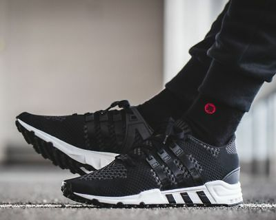 promo code 038df 1a8a0 NEW ADIDAS EQT Support RF Primeknit Sneaker Mens black white all sizes