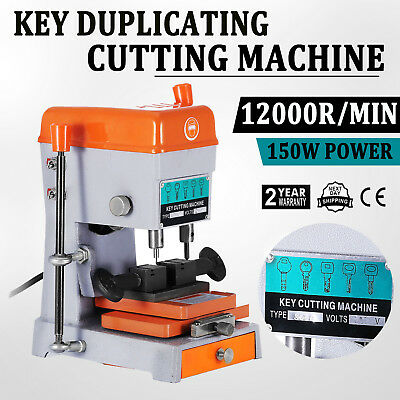 New Key Duplicating Machine Vertaical Key Reproducing Cutting Automatic Bitted
