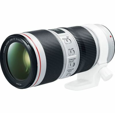 Canon EF 70-200mm f/4L IS II USM Lens -Express Shipping