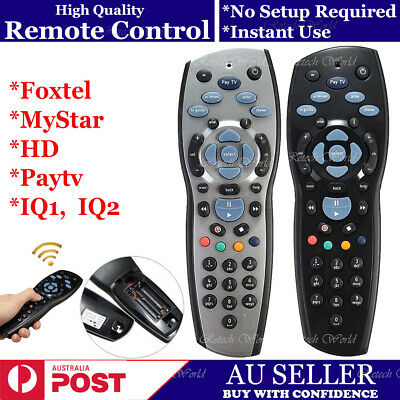 New Remote Control Replacement For Foxtel Mystar Hd Paytv IQ1 IQ2 IQ3 Aussie