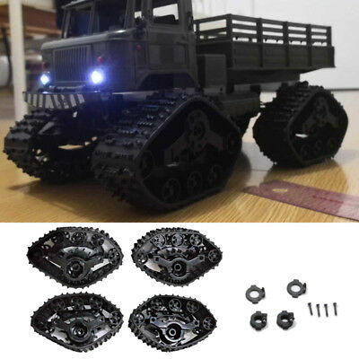 4x Upgrade Track Wheels Spare Parts For 1/16 WPL B14 C24 Military Truck RC Car