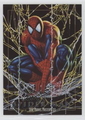 1992 SkyBox Marvel Masterpieces Prototypes #86 Spiderman Spider-Man Card 0p3