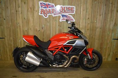 Ducati Diavel,Red,Stunning bike only 1800 genuine miles,NOW SAVE £2000 now £7995