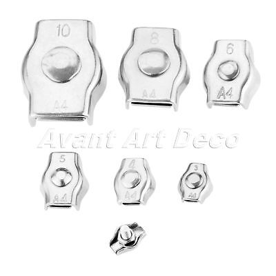 Hardware Supplies Wire Rope Simplex Clip Grips Cable Clamps Caliper 2mm-10mm Kit