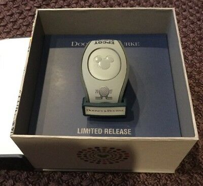 New Disney Dooney And Bourke 2017 Epcot Food And Wine Fest Magicband Unlinked