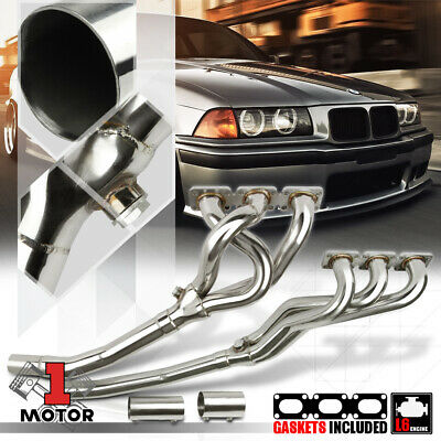 Stainless Steel Exhaust Header Manifold for 92-99 BMW E36 3-Series 2.8/3.2 M3 I6
