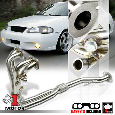 Stainless Steel Exhaust Header Manifold for 00-02 Nissan Sentra 1.8 QG18DE 4Cyl