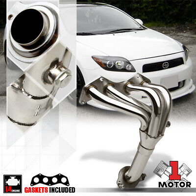 Stainless Steel Exhaust Header Manifold for 05-10 Scion tC 2.4 2AZ-FE VVT-i 4Cyl