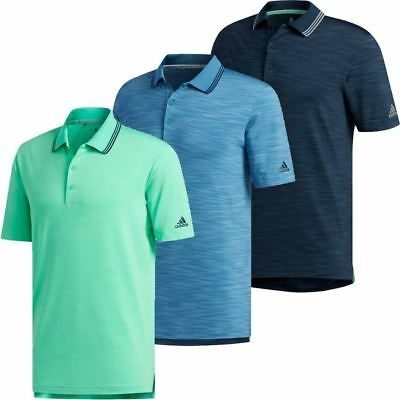 Adidas Ultimate 365 Textured Stripe Mens Polo, Size & Colour Options