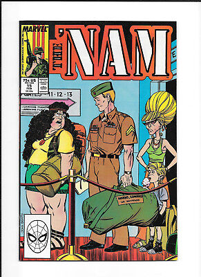 The 'nam #15 High Grade (Vf/nm) Marvel