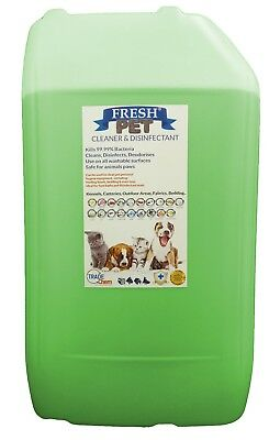 Fresh Pet Kennel ECO Disinfectant 25L (Optional Tap, Empty Spray) Apple