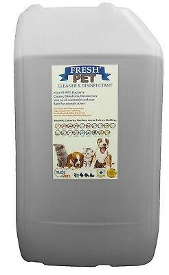 Fresh Pet Kennel ECO Disinfectant 25L Optional Tap, Empty Spray Coconut