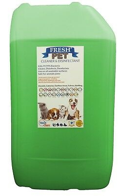 Fresh Pet Kennel ECO Disinfectant 25L Optional Tap, Empty Spray Floral