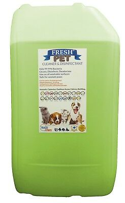 Fresh Pet Kennel ECO Disinfectant 25L Optional Tap, Empty Spray Lime