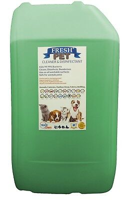 Fresh Pet Kennel ECO Disinfectant 25L Optional Tap, Empty Spray Pine