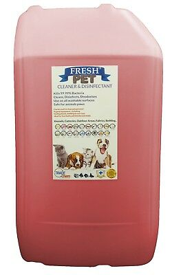 Fresh Pet Kennel ECO Disinfectant 25L Optional Tap, Empty Spray Strawberry