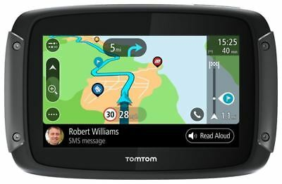Tom Tom 550 Premium World Latest Motorcycle Sat Nav GPS