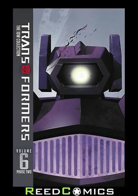 TRANSFORMERS IDW COLLECTION PHASE TWO VOLUME 6 HARDCOVER (388 Pages) Hardback
