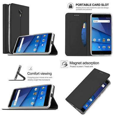 reputable site 0d61b 4763d BLU VIVO 8 Case, Kugi Blu Vivo 8 Case, Ultra-Thin Bw Style Pu Cover + Tpu  Back