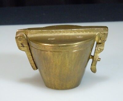 Antique Brass Nesting Apothecary Scale Weights        52695