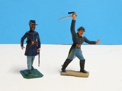 """1//32 /""""Waltz of Victory/"""" Soviet WWII Officers Dancing 1945 Tin Metal Soldier 65mm"""