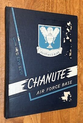 Military, US Air Force, Chanute AFB, 1955, Yearbook, Technical Training