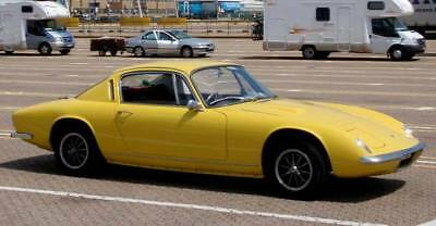 1969 Lotus Elan+2 Coupe In Yellow * All Lotus Models Required In Any Condition *