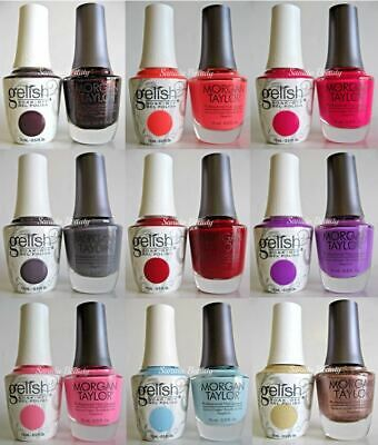 Harmony Gelish AND Morgan Taylor Matching Colors - Series 2 - Choose YOUR DUO