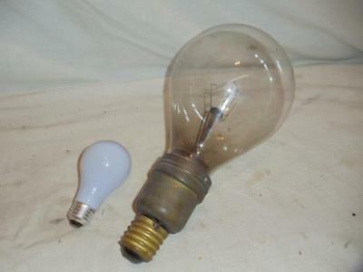Vintage Mid Century Edison Mazda 1000w Oversized Lightbulb Other Collectible Lighting Lamps, Lighting