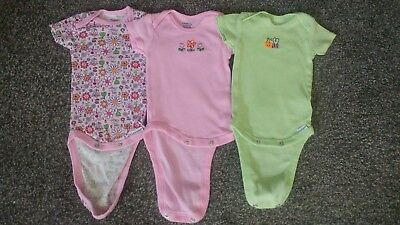 Miniwear And Gerber Infant Girls Bodysuit Onesies Size 3-6 Months And 3-9 Months Clothing, Shoes & Accessories