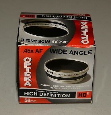 Opteka High Definition II 45x Lens For Canon (Wide Angel) 58mm
