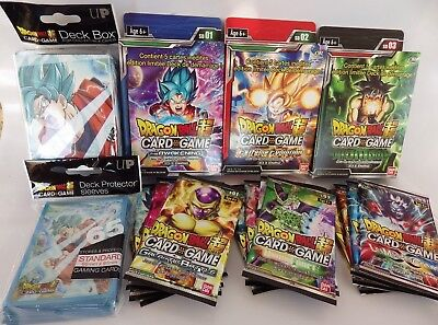 Dragon Ball Super Card Game Enorme lot Full set starter Booster starter box +++