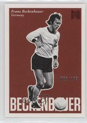 2017 Panini Nobility Marquee Moments #20 Franz Beckenbauer Germany Soccer Card