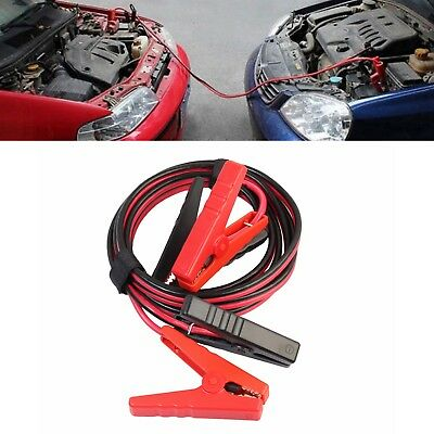2.5m  Gauge Battery Jumper Cables 400Amp Booster Cable Emergency Car Truck