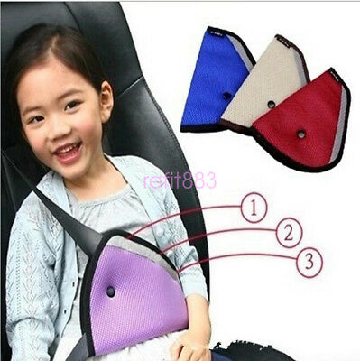 Kids Child Safety Car Seat Belt Strap Pad Pillow Cushion Head Support Harness