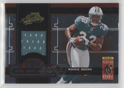 9bf37bfd0 2005 Playoff Absolute Memorabilia NFL Rookie Jersey Collection  1 Ronnie  Brown