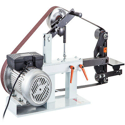 """2"""" X 82"""" Knife Belt Grinder  with Motor, Base & Tool Rest and Attachments 2HP"""