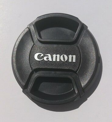 New replacement 58mm lens cap for Canon 18-55mm and 70-300mm and other lenses