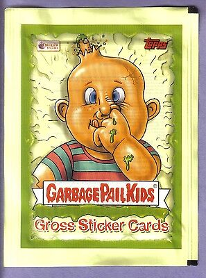 2003 Garbage Pail Kids All New Series 1 UK ANS 1 UK Unopened Sticker Pack w/Foil