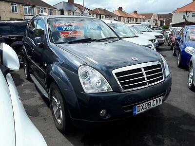 2009 SSANGYONG REXTON 270 SPR 2.7 Diesel Auto From GBP6,495 + Retail Package