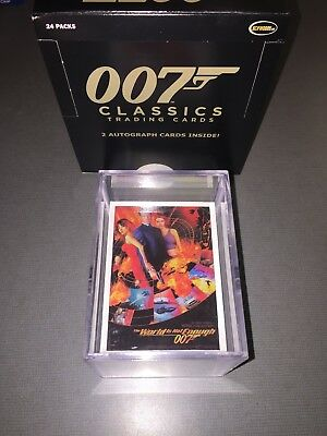 James Bond 2016 Classics Trading Cards Complete 72 Card Base Set With Duplicates