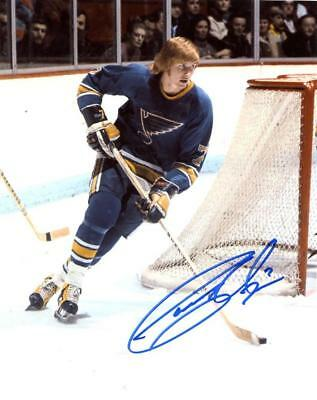 5aa2595cd GARY UNGER ST. Louis Blues Signed