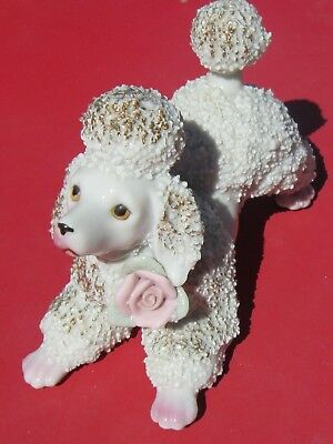 Vintage 1950s Large EMPRESS Porcelain SPAGHETTI POODLE Made in Japan WALES