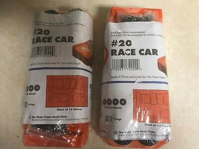 NEW HOME DEPOT Kids Workshop Race Car 20 Set Kit Lowes Build Grow