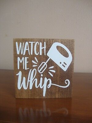 watch me whip kitchen sign kitchen signs funny kitchen signs wood sign - Funny Kitchen Signs