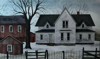 Billy Jacobs 1890 Homestead Lighted Wrapped Canvas 18 x 12