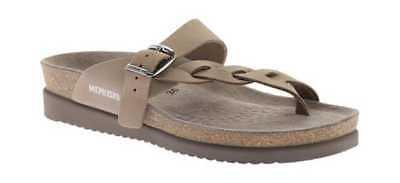 9a2db40b1e1d Mephisto Women s Helen Twist Light Beige Nubuck Thong Sandals