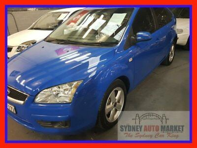 2005 Ford Focus Ls Lx Blue Automatic 4sp A Hatchback